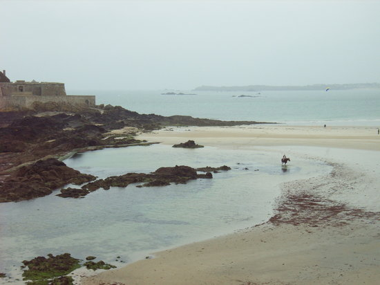 Saint-Malo, Francia: The view