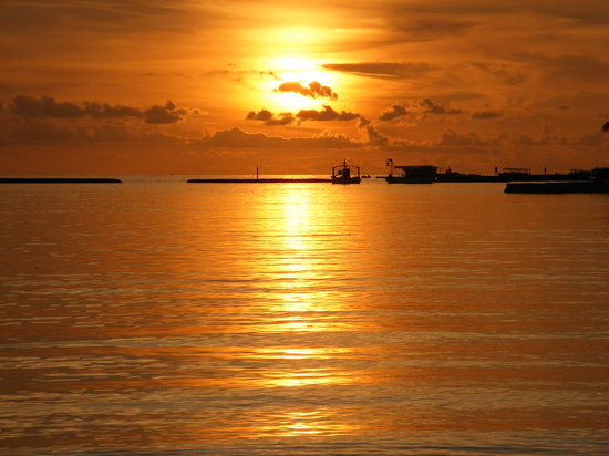 Nord-Male-Atoll: Sunset