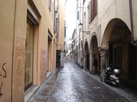 Padua, Italy: street scene