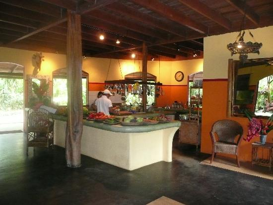 Kitchen at Iguana Lodge