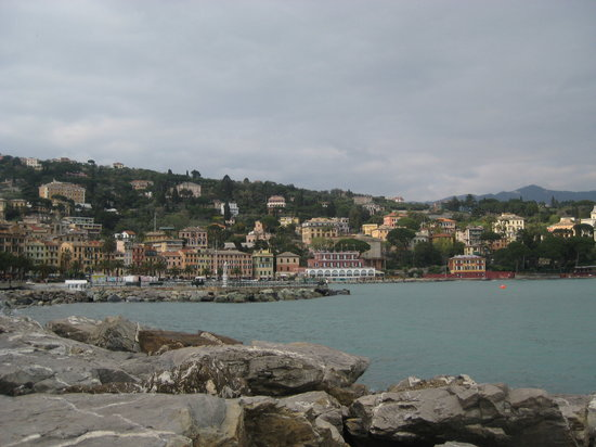 Santa Margherita Ligure, Italie : Santa Margherita View across the bay