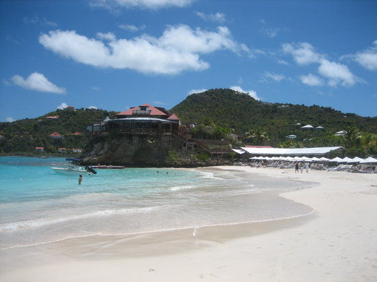 St. Jean, St. Barthélemy: walk on the beach