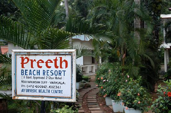 Varkala, India: Preeth Resort