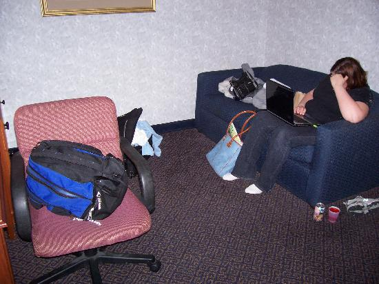 Comfort Suites: Sitting Room Picture