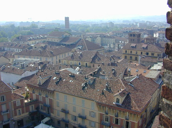 Asti view by trojana tower