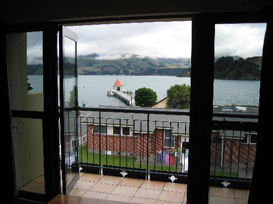 Akaroa Criterion Motel: Great views from the balcony