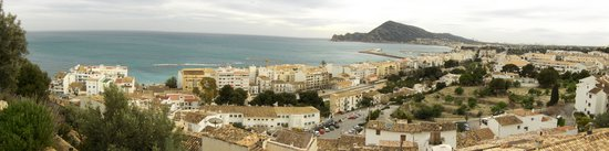 , : from altea church view