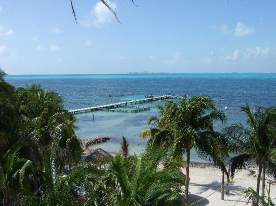 Isla Mujeres Palace: View from room 205