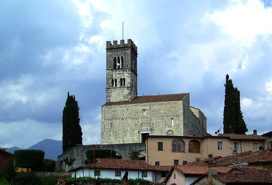 Barga Duomo in the Old Town