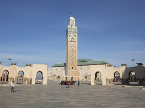 Casablanca, Marruecos: Hassan II Mosque
