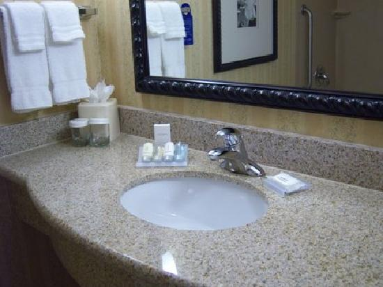 Hilton Garden Inn Solomons: Bathroom Sink - Neutrogena Products