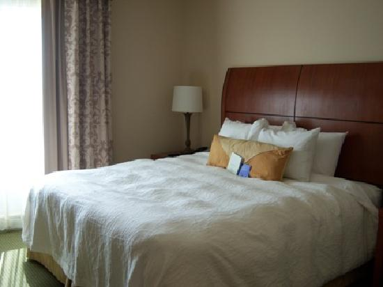 ‪‪Hilton Garden Inn Solomons‬: King Bed - Evolution Suite‬