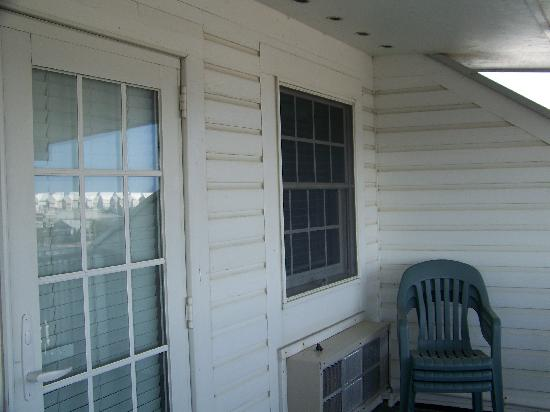 St. George Inn: Porch (third floor suite)