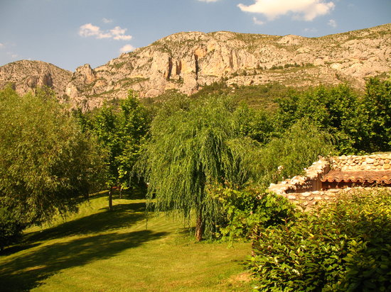 Moustiers Sainte-Marie, France: Typical view from the room terrace