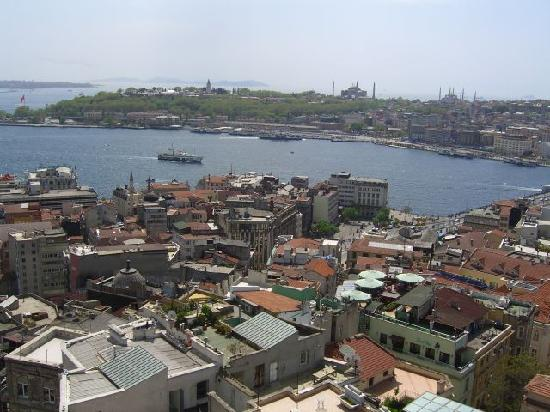 Istanbul vom galataturm aus picture of fuar hotel for Aksaray hotels