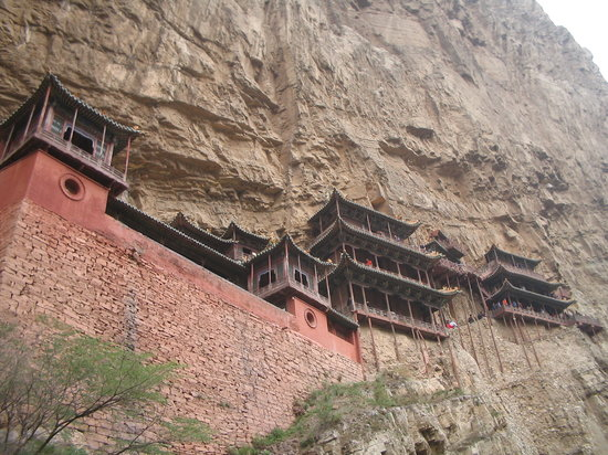 Datong, China: Hanging Temple