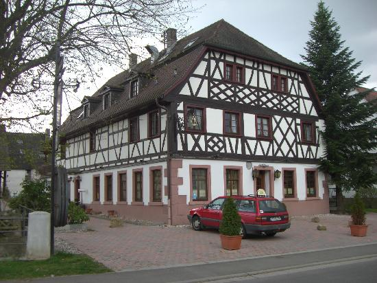 Denzlingen, Germany: Hotel from the road