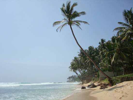 Galle, Sri Lanka: beach