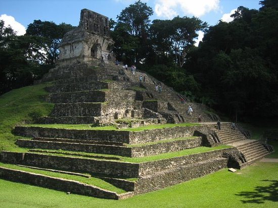 National Park of Palenque: main pyramid