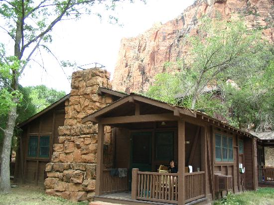 our cabin picture of zion lodge zion national park