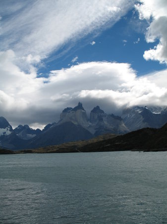 Puerto Natales, Chili : Lago Pehoe 