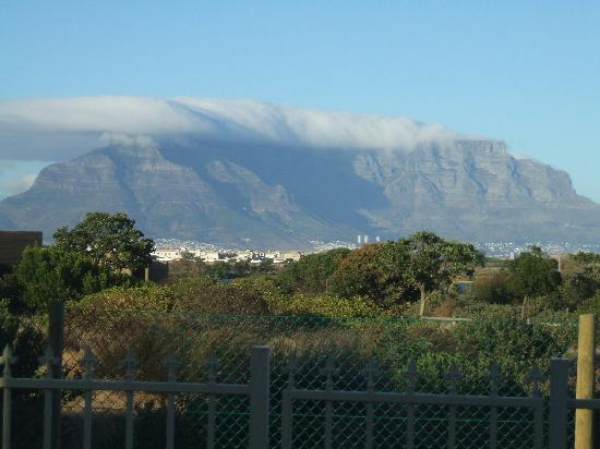 Cape Oasis Guesthouse: Table Mountain in the morning