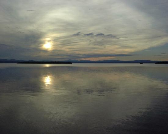 Burlington, VT: View from Colchester Causeway