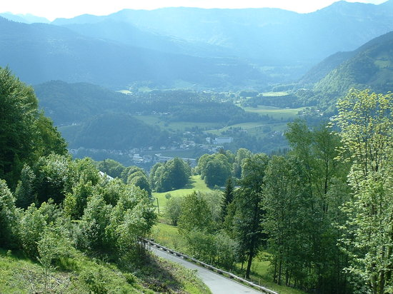 Berchtesgaden, Germany: A Sample of the view.