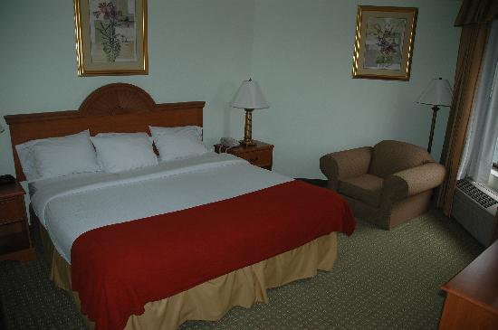 Holiday Inn Express Madison: Bedroom of suite