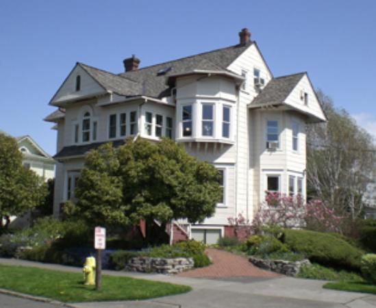 The Corner House: from across the street
