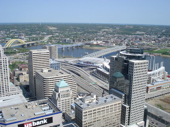 Cincinnati, OH: View from Carew Tower