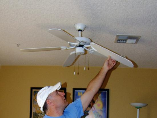 Ct on a budget ceiling fan update ceiling fan update mozeypictures Images