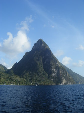 Vieux Fort, St. Lucia: Views from the sunset sail
