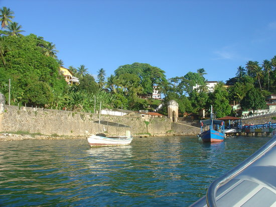 Morro de Sao Paulo: entrance to the village.JPG