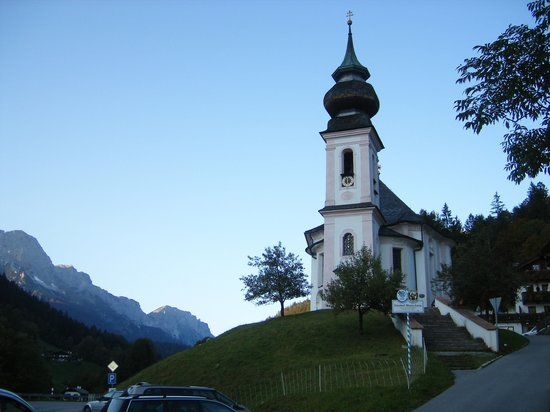 Berchtesgaden, Allemagne : Chapel, Maria Gern 