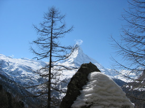 Zermatt, Switzerland: The Matterhorn and the..
