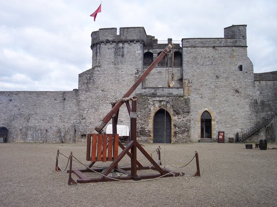 Limerick, Ireland: catapult