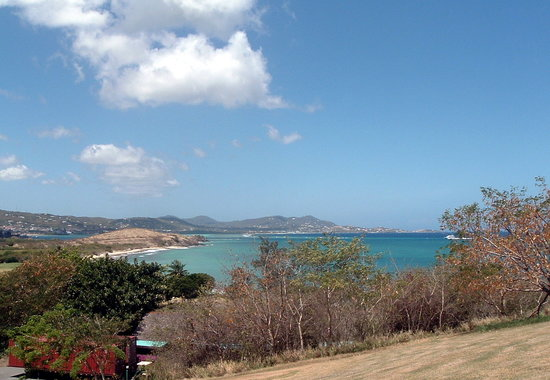 Christiansted, St. Croix: View from hotel grounds