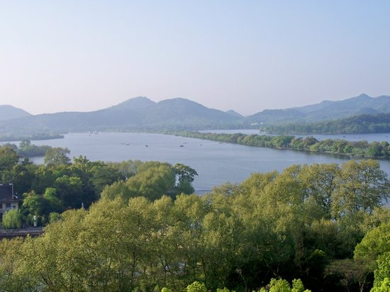 Hangzhou, Kina: West Lake Hangshou China