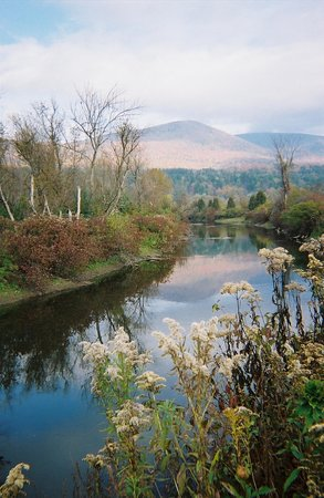 Bennington, VT : Battenkill River at Hill Farm Inn