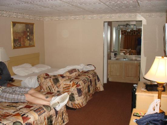 Vacation Lodge Motel: double beds