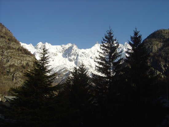Courmayeur, Italy: View from our room