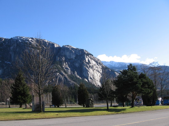 British Columbia, Canada: Statamus Chief, Squamish