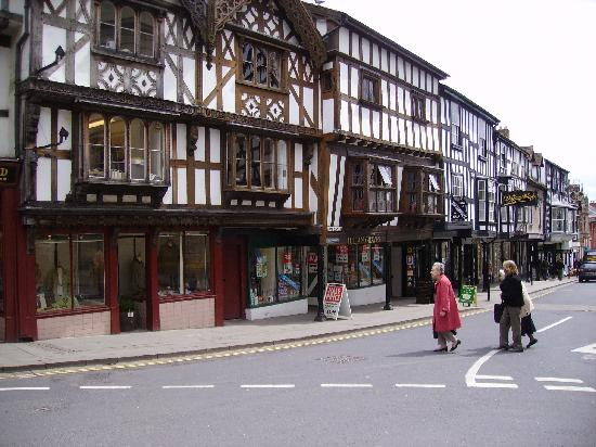 Ludlow, UK: So often I live in the 14th century