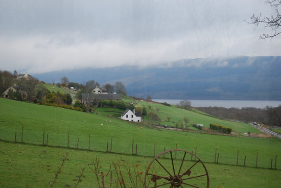 Drumnadrochit, UK: View from breakfast room