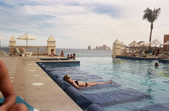 Endless Pool  Picture of Hotel Riu Palace Cabo San Lucas