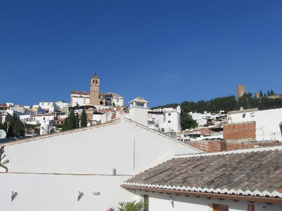 Hotel Palacio Blanco: View from the rooftop terrace
