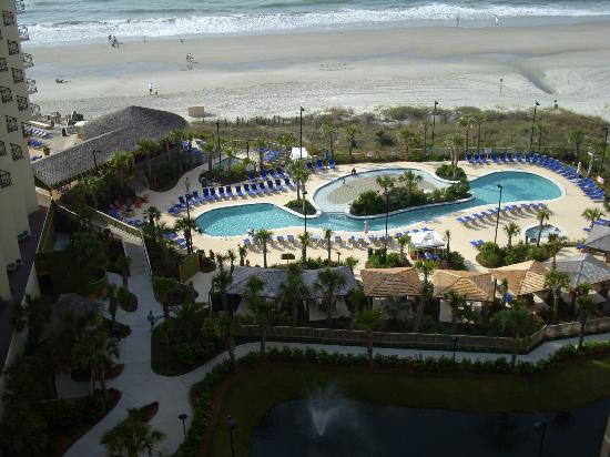 Hilton Myrtle Beach Resort: Oceanfront bar