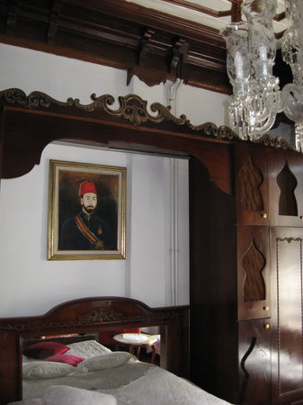 Turkuaz Hotel: Pasha&#39;s Room (bed)