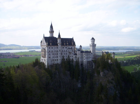 Fussen, Tyskland: Schloss Neuschwanstein